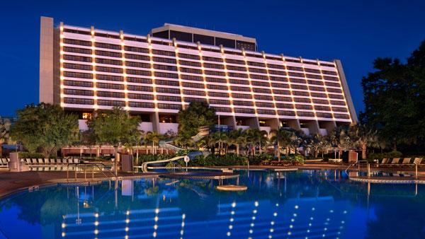 Disney's Contemporary Resort Swimming Pool