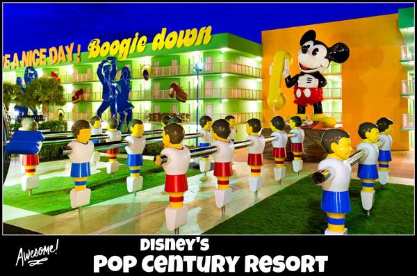 Disney's Pop Century Resort - room rates, photos, map, overview
