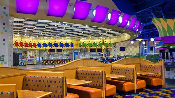 Everything Pop Food Court at Disney's Pop Century Resort