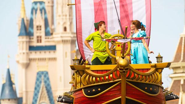 Disney Festival of Fantasy Parade at Magic Kingdom Theme Park