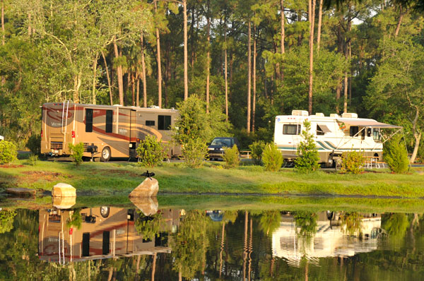 The Campsites At Disneys Fort Wilderness Resort Broad Hookup Campsite