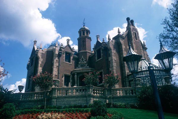 The Haunted Mansion at Disney's Magic Kingdom Theme Park