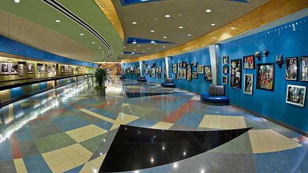 Lobby at Disney's Pop Century Resort