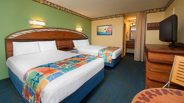 Disney's All-Star Movies Resort Guest Room