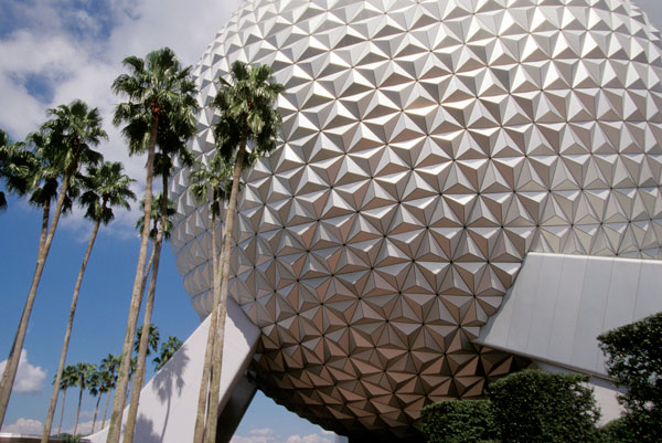Spaceship Earth at Disney's Epcot Theme Park