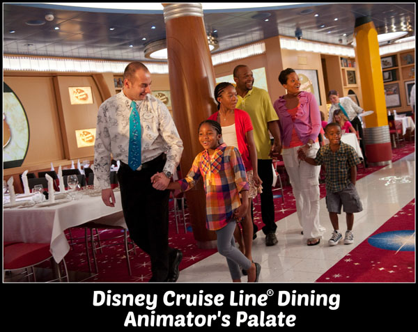 Animator's Palate - Disney Cruise Line Dining aboard the Disney Dream