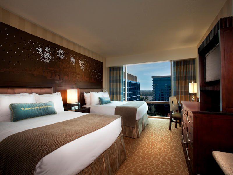 Disneyland Hotel Guest Room