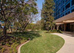 isneyland Hotel Courtyard