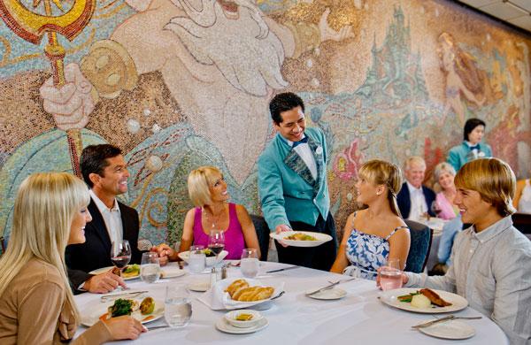 Disney Wonder - Triton's - Disney Cruise Line Dining
