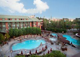 Pools at Grand Californian Hotel