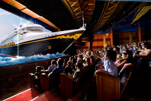 3D Movies aboard Disney Cruise Line