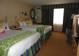 Disney's Paradise Pier Hotel Guest Room