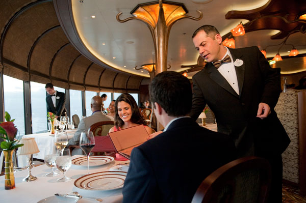 Remy - Disney Cruise Line Dining aboard the Disney Dream