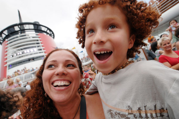 Sail-Away Celebration on Disney Cruise Line