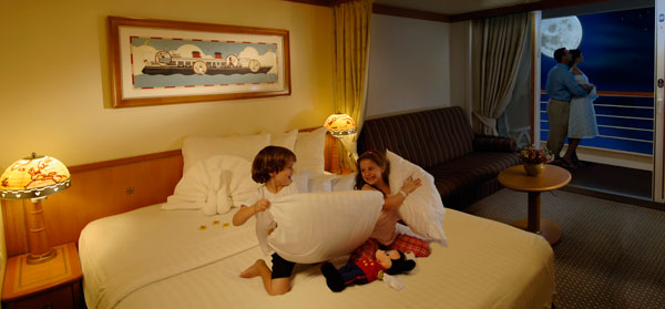 Disney Cruise Line Staterooms - Magic and Wonder