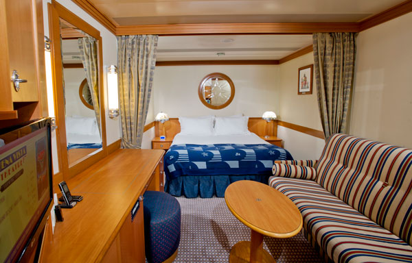 Disney Wonder Inside Stateroom - Disney Cruise Line