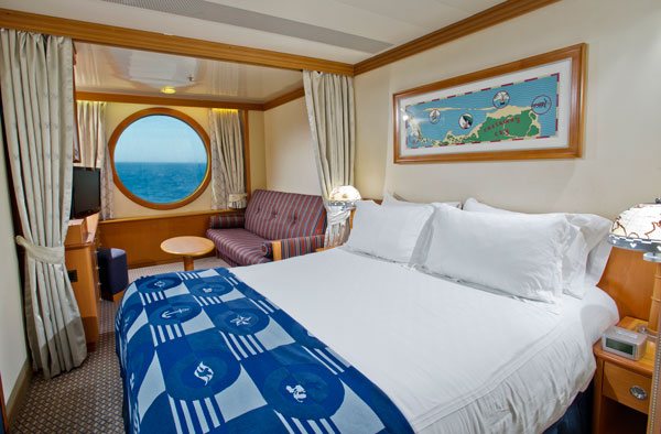 Disney Wonder Deluxe Oceanview Stateroom - Disney Cruise Line