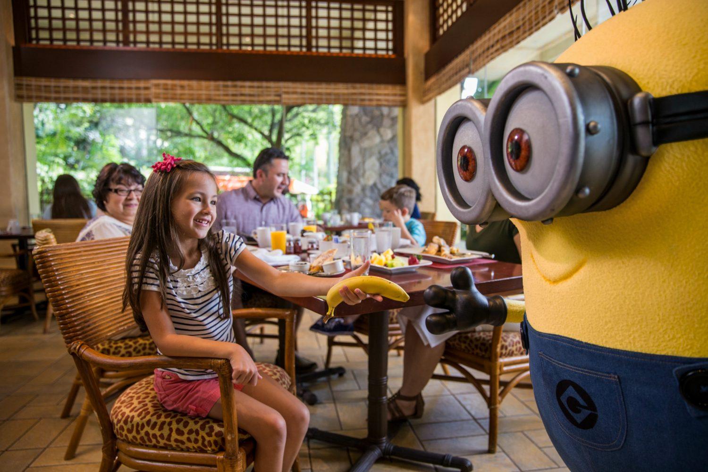Universal Orlando Resort Dining Character meal