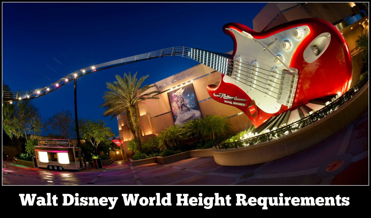 Walt Disney World Height Requirement Guide