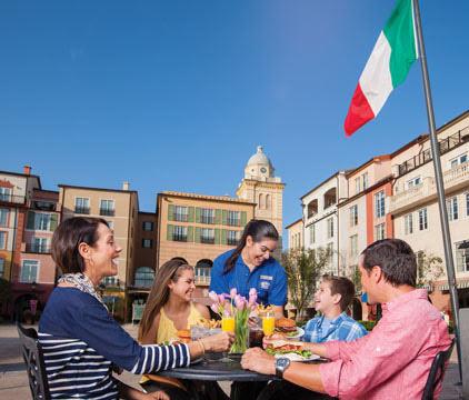 Portorfino Bay Dining
