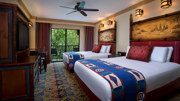 Guest Room at Disney's Wilderness Lodge
