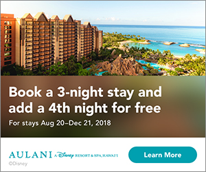 Aulani Resort Offer