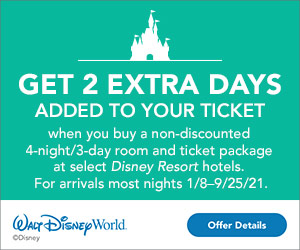 Walt Disney World Resort Offer