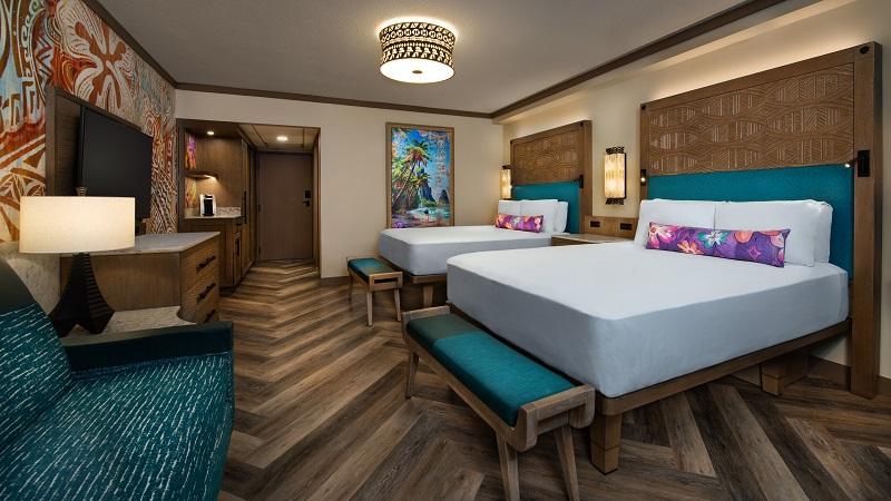 Disney's Polynesian Village Resort Guest Room