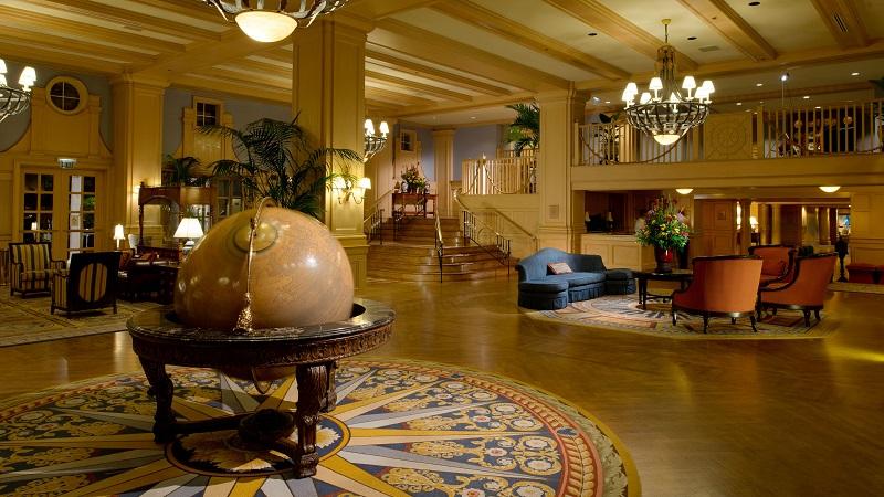Disney's Yacht Club Resort Lobby