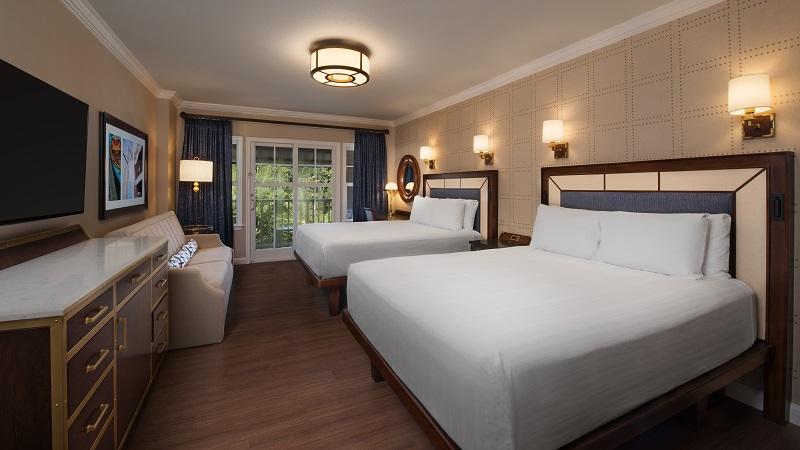 WDW - Yacht Club - Standard Guest Room