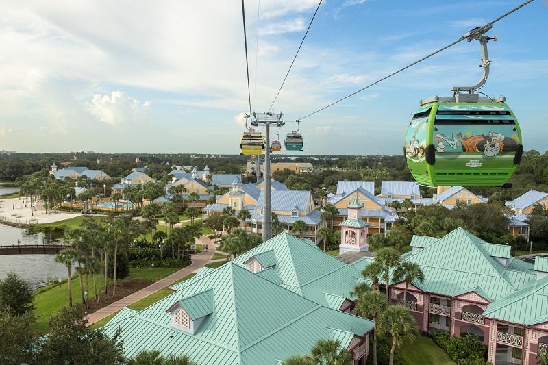 Disney's Caribbean Beach Resort - Disney Skyliner