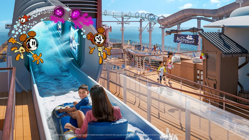 Disney Wish - AquaMouse - Artist Rendering