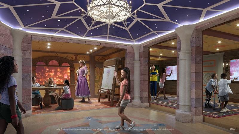 Disney Wish - Kids Area - Artist Rendering
