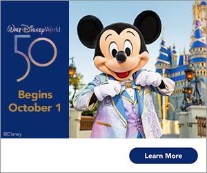 WDW The Magic is Calling 50th Anniversary